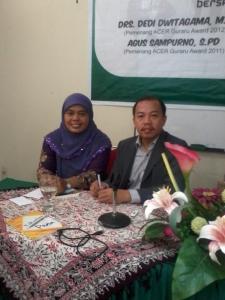 bersama Pak Ukim Komarudin