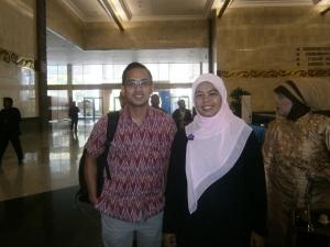 bersama Pak Agus Sampurno