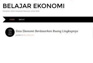 blog ekonomi